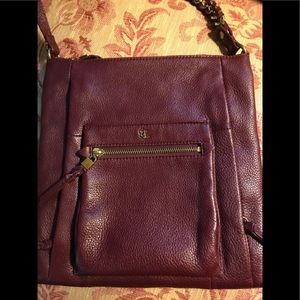 All leather Elliott Lucca handbag/crossbody